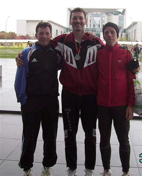 3  Sportler  der IPA Vbst. Betzdorf-Altenkirchen finishten beim Berlin Marathon 2007