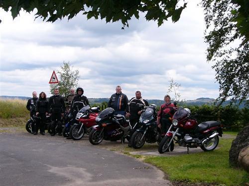 Motorradtour der IPA-Vbst. Linz/Rhein