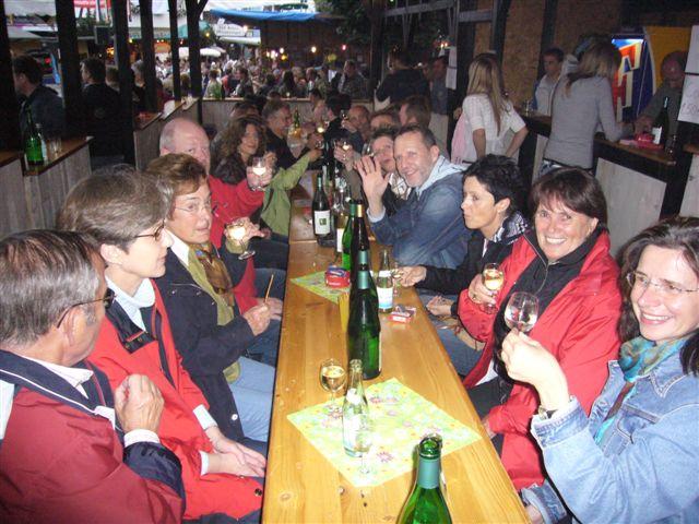 IPA Betzdorf-Altenkirchen besuchte Winzerfest in Linz/Rhein