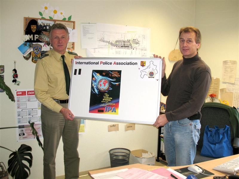 Magnettafeln für die Dienststellen im Bereich der IPA Betzdorf-Altenkirchen