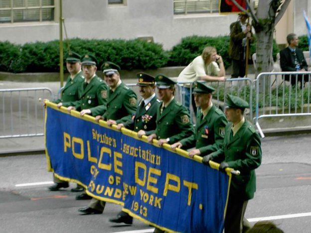 Teilnahme an der Steuben Parade in  New York 2004