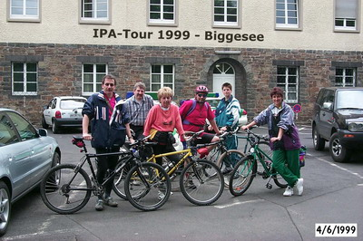 IPA-Familienausflug an die Biggetalsperre in Olpe zum dortigen IPA-Haus