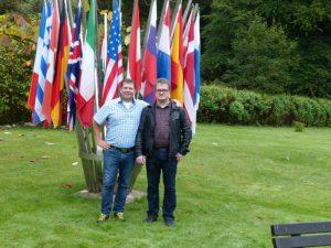 IBZ GImborn Direktor Rene aufmann zusamen mit Mariusz Jaschweksi