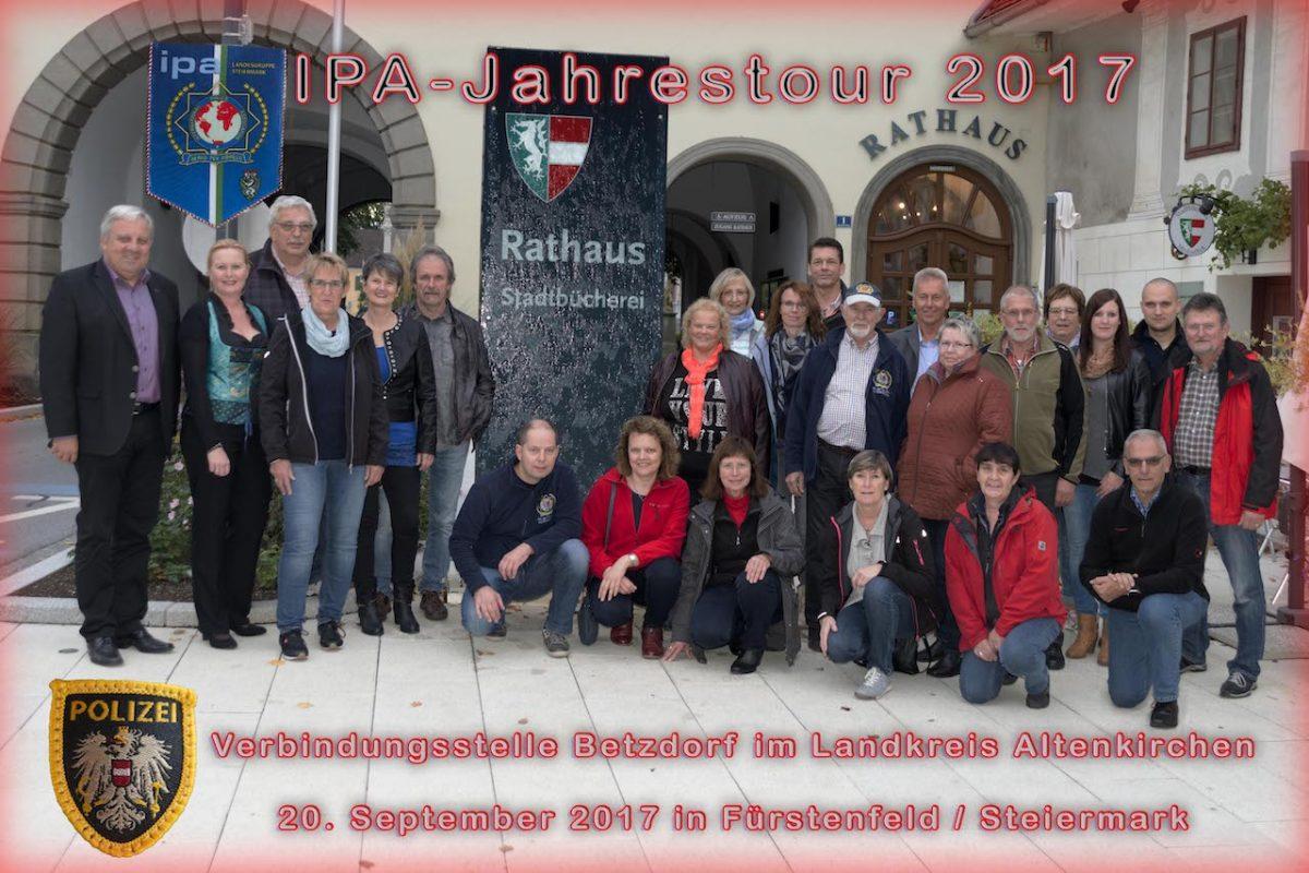 Jahrestour 2017 nach Österreich / Wien