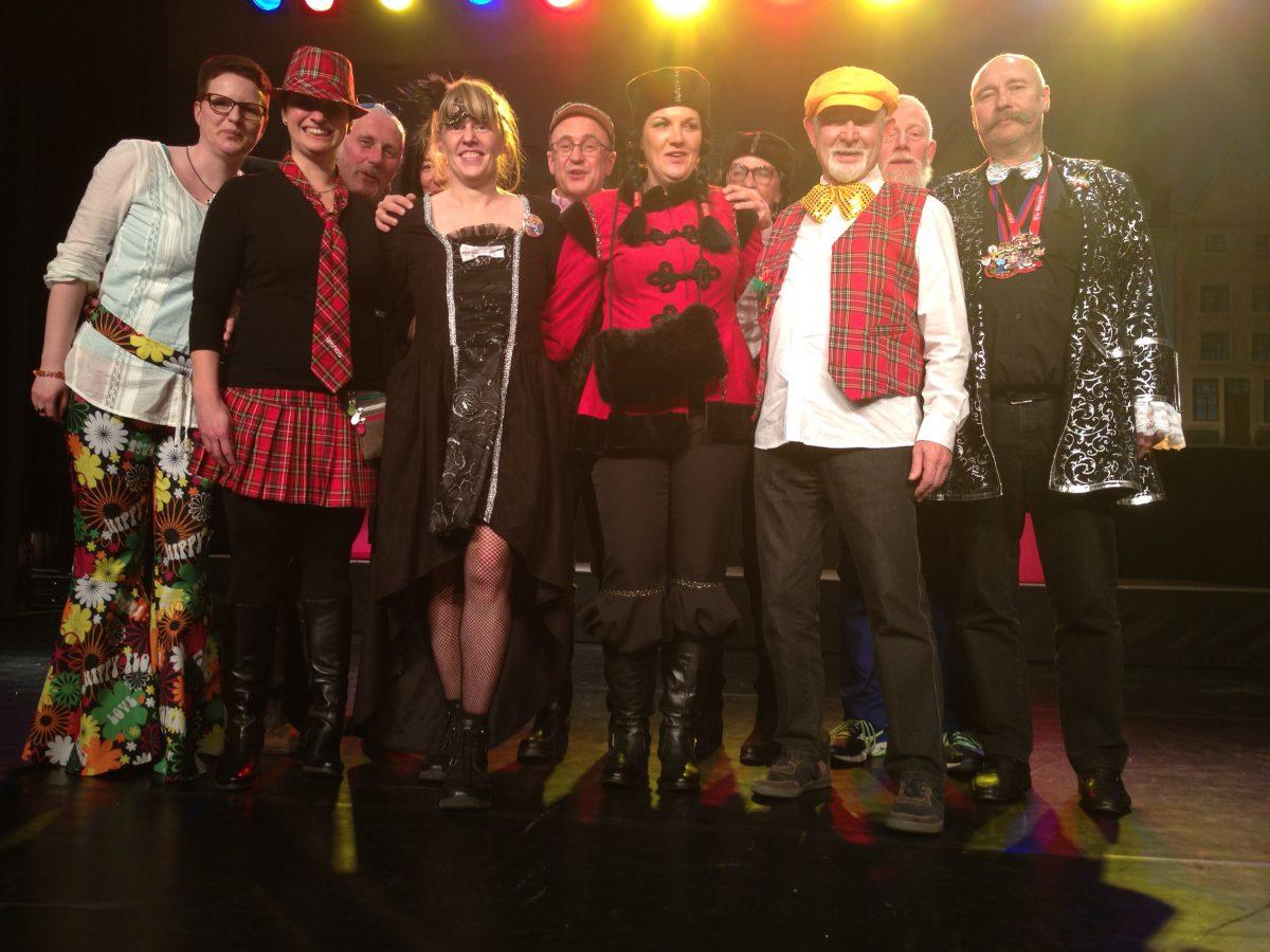 Besuch des IPA Ball zum Karneval in Köln