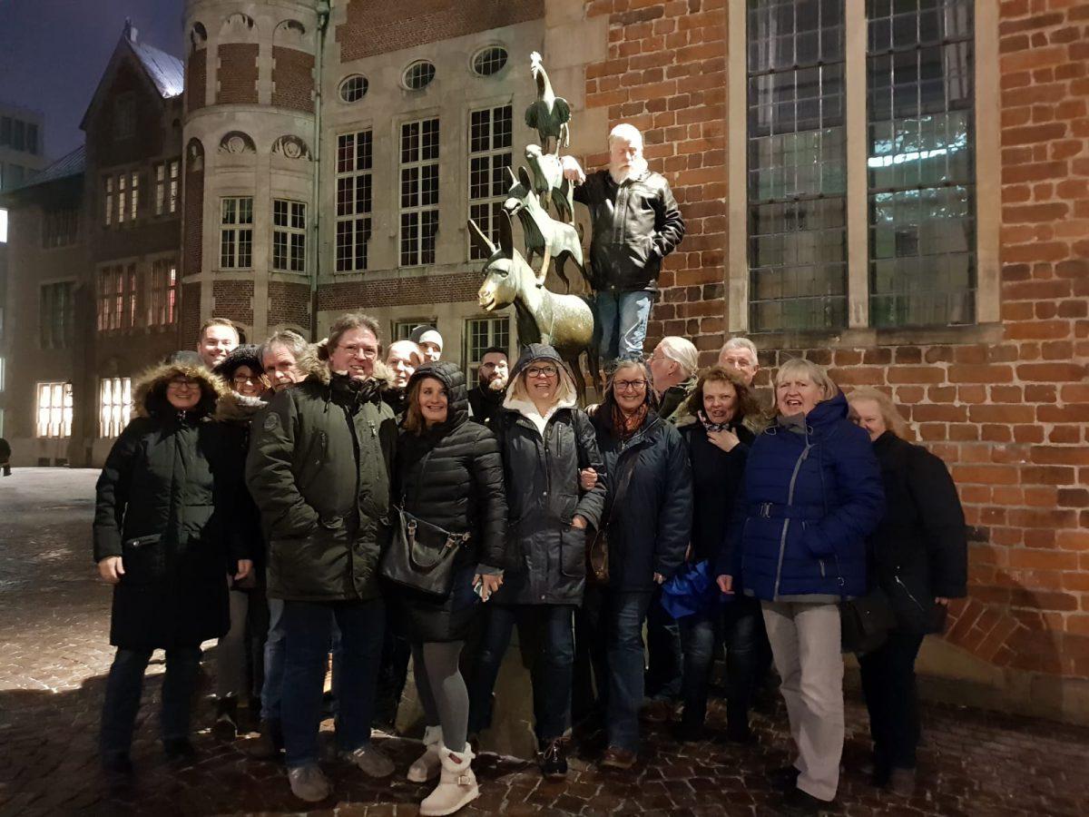 Kohl- und Pinkelfahrt in Bremen 2019