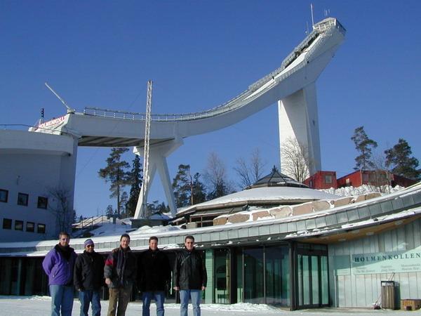 Vier hartgesottene IPA'ler gingen auf Erkundungstour ins kalte Norwegen
