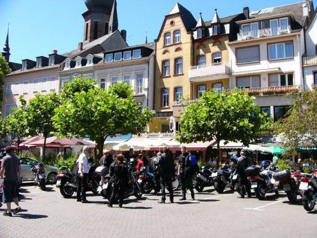Motorradtour der IPA Betzdorf nach Linz / Rhein