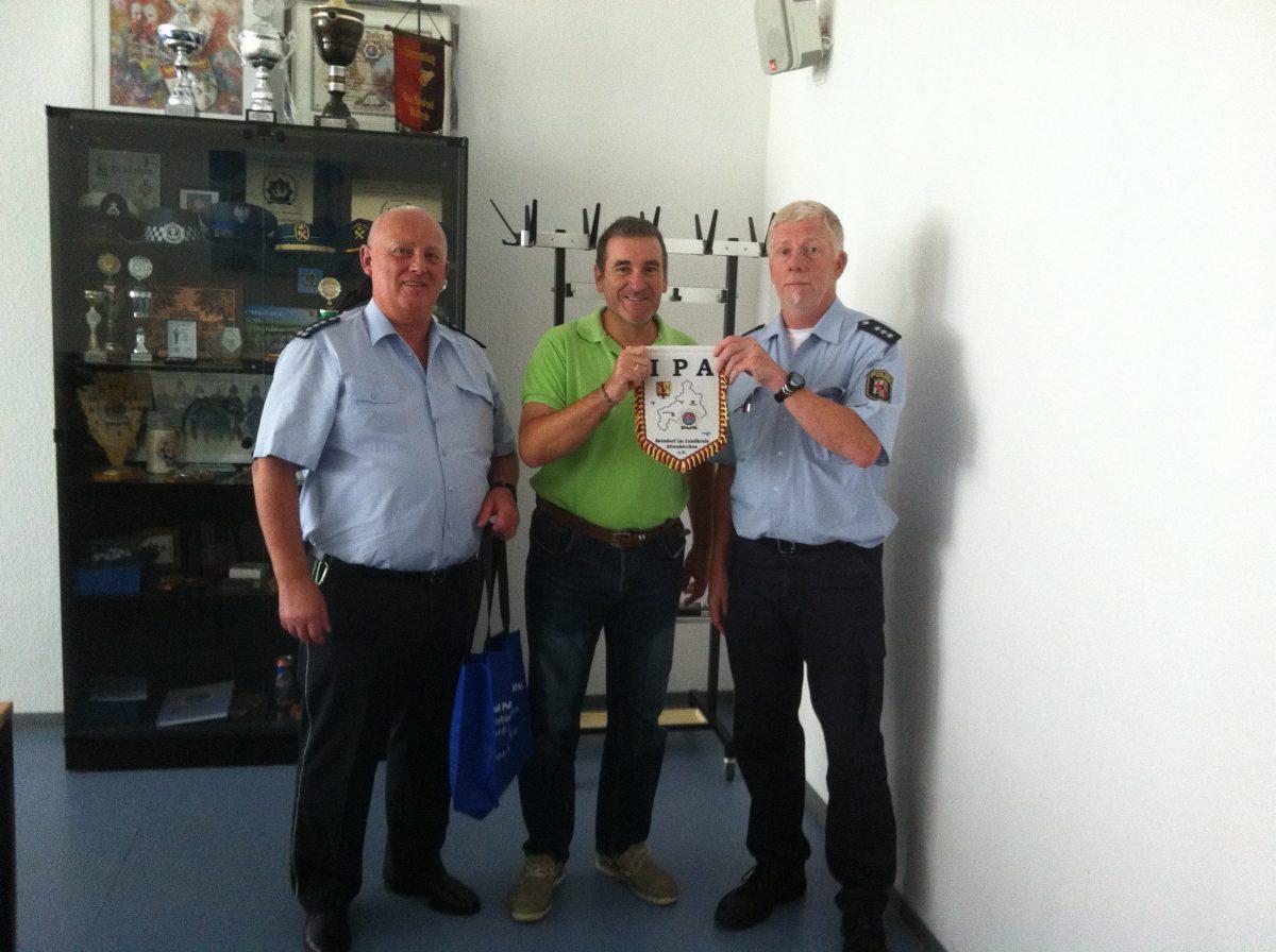 IPA Besuch aus Spanien bei der Polizei in Betzdorf