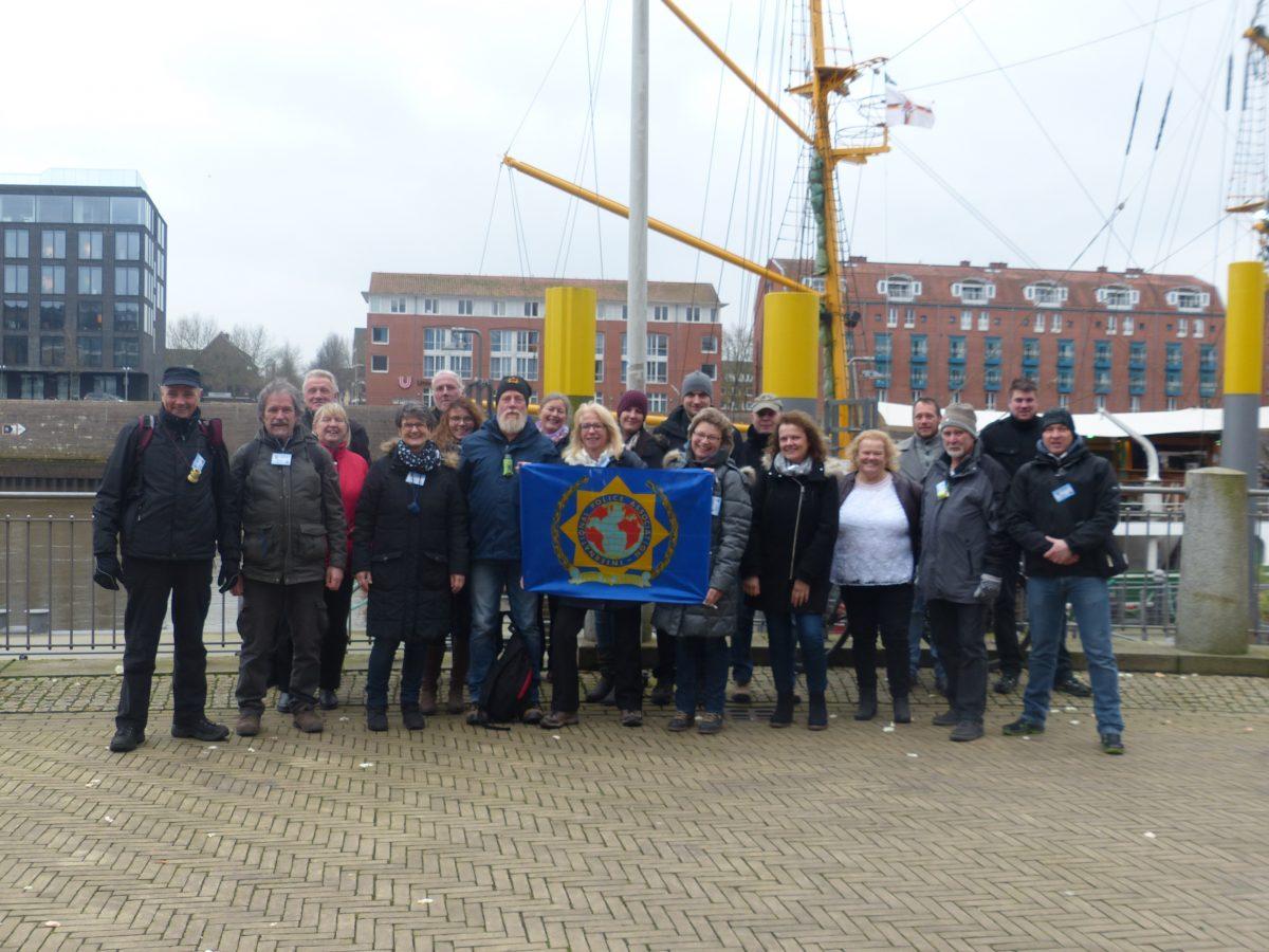 Besuch der IPA Bremen zur Kohl- und Pinkelfahrt