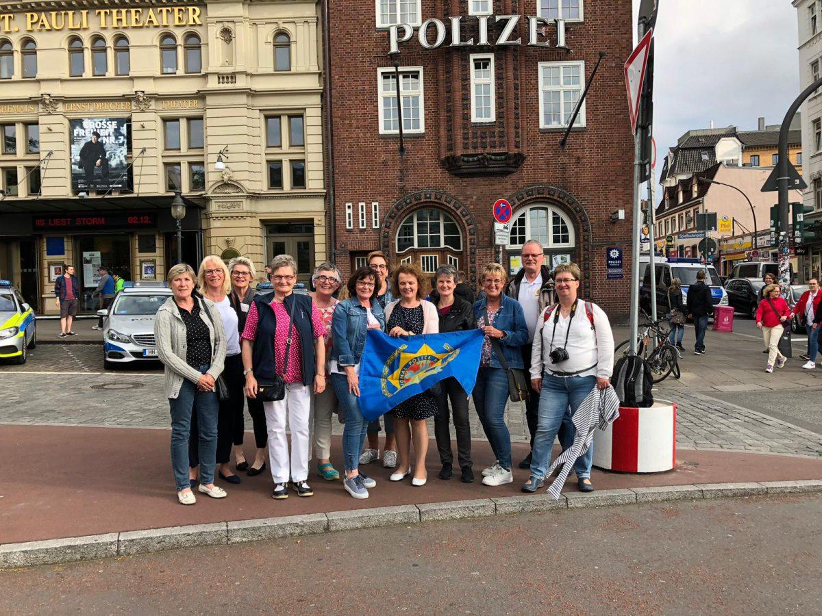 IPA Amazonen besuchen die Hansestadt Hamburg